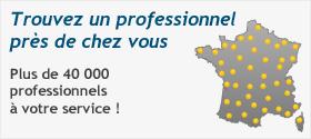 Trouvez un professionnel près de chez vous ! Plus de 40000 professionnels à votre service pour vos devis de travaux. Simple, rapide et gratuit.