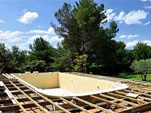 Installateur de piscine en beton Beynost
