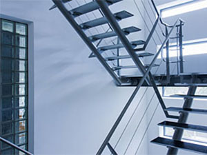 Escalier alu - métal
