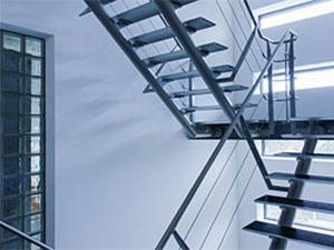 Createur d'escalier en alu metal Molsheim