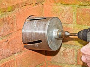 Entrepreneur en Ouverture de mur (sciage et carottage) Chaptelat