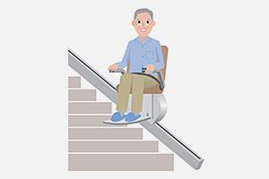 Installateur et entretien de monte escalier Souffelweyersheim