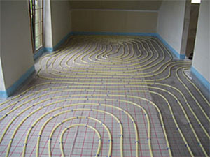 Chauffage au sol (plancher chauffant)