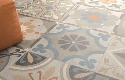 Carrelage décor ancien As de carreaux.com
