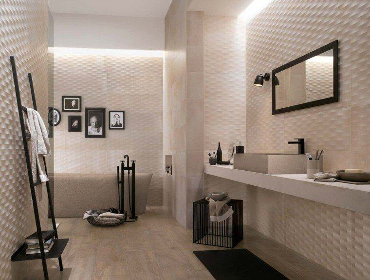 idee carrelage salle de bain design creta ambiente. Black Bedroom Furniture Sets. Home Design Ideas