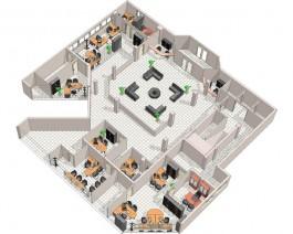 Aménagement de bureau ©Simon Bureau