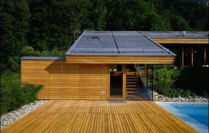 Toiture en zinc sur maison bois : une association intéressante