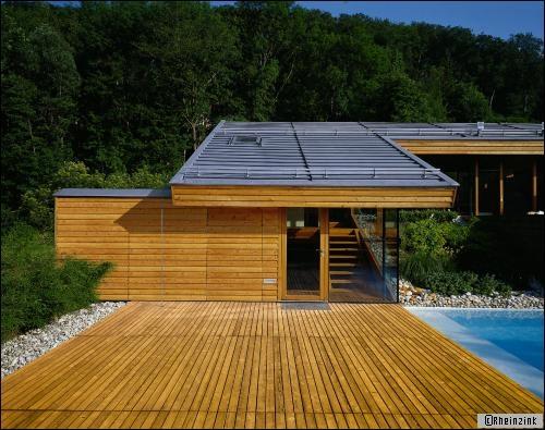 Toiture en zinc sur maison bois : une association intéressante - Travaux.com