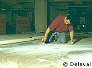 La préparation du chantier et la pose