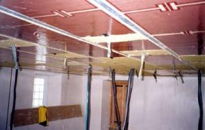 plafond fissure plaques de pl tre. Black Bedroom Furniture Sets. Home Design Ideas