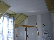 reparation plafond rayonnant