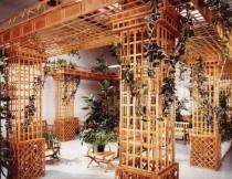 Treillage : une décoration extérieure ou intérieure plus originale qu'il n'y paraît