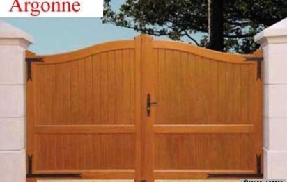 Le portail, la première entrée de la maison