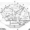 Plan de maison : une maison en bois avec une vue panoramique
