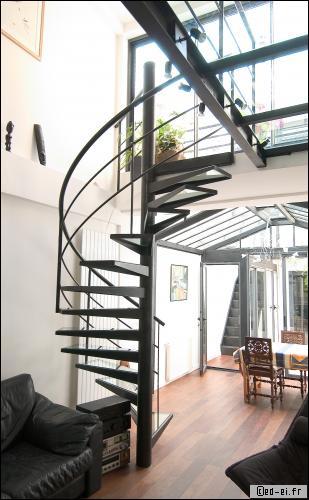 prix d 39 un escalier en m tallique 2018. Black Bedroom Furniture Sets. Home Design Ideas