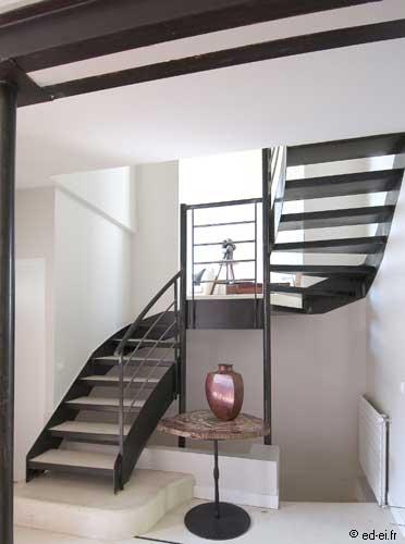 L 39 escalier un meuble pas comme les autres - Isolation thermique sol renovation ...