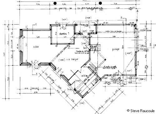 Plan De Maison  Une Maison Provenale Dans LHrault Languedoc