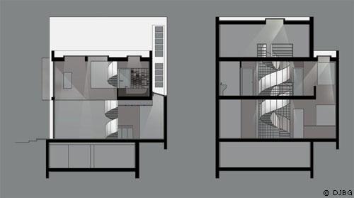 Plan De Maison : Une Grande Maison Contemporaine Sur Une Petite