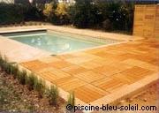 L'aménagement des abords de piscine