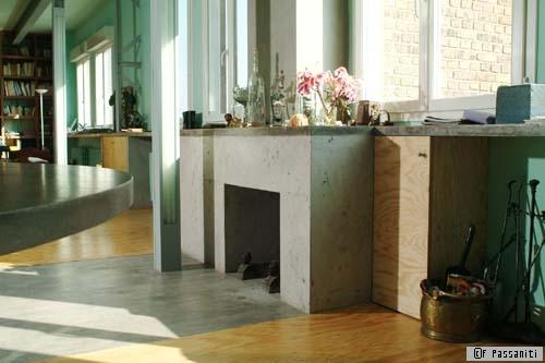 Ciré, satiné, lissé, brut, etc., le béton décoratif fait ses gammes - Travaux.com
