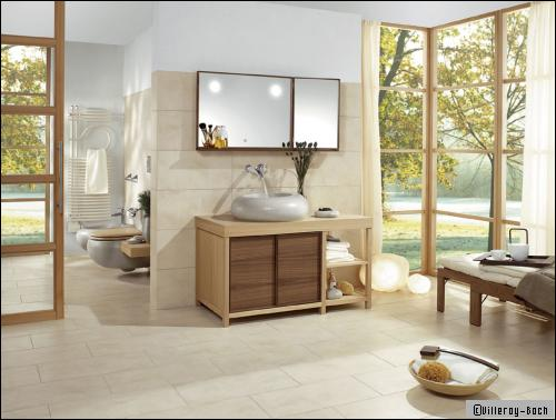 mat riaux tous les go ts sont dans la salle de bains. Black Bedroom Furniture Sets. Home Design Ideas