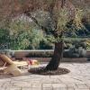 Les terrasses en pierre reconstituée