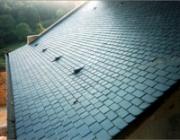Les toitures en ardoise