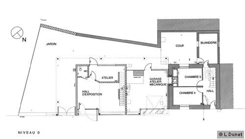 Plan De Maison : Une Extension Contemporaine Dans Un Village Breton