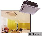 Chauffage et climatisation : la climatisation réversible