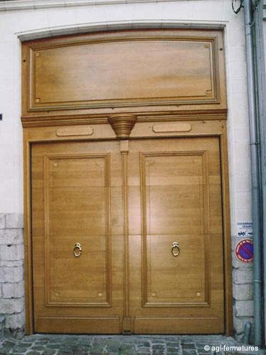 La porte plus qu 39 un seuil une entr e - La porte exterieure ...