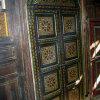 Porte bois peint arrondis de La maison andalouse