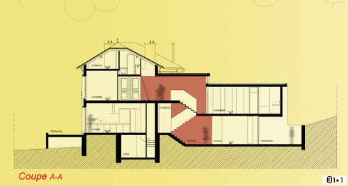 Plan De Maison   Projets Pour Une Extension De M En Banlieue
