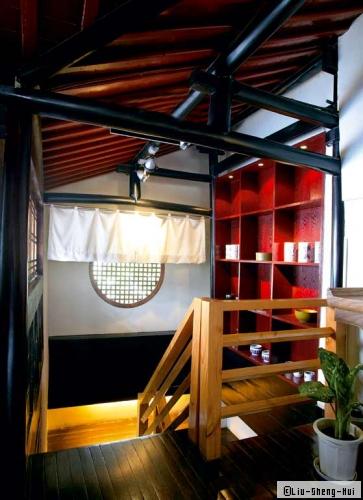 Décoration d\'intérieur contemporaine d\'inspiration chinoise ...