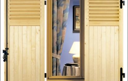 volets coulissants donner une touche design votre. Black Bedroom Furniture Sets. Home Design Ideas