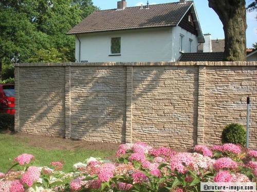 un mur de cl ture en pierre oui mais lequel. Black Bedroom Furniture Sets. Home Design Ideas