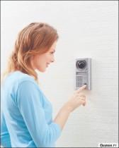 Interphone : Savoir qui sonne et décider si vous souhaitez qu'il ou elle entre chez vous