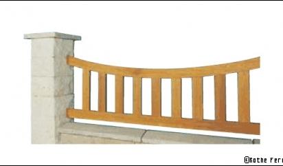 Clôture en bois : élégance, charme… et résistance !