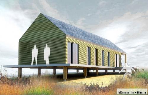 Plan De Maison  La Longre En Bois Rpond  Toutes Les Attentes D