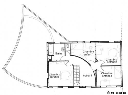 Plan De Maison  En Baie De Somme Une Maison Neuve En Bois Se Joue