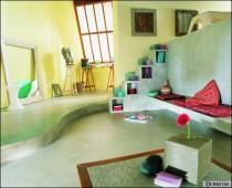 Béton coloré: de la couleur dans votre intérieur - Travaux.com