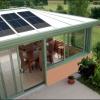 Véranda photovoltaïque: la nouvelle véranda écolo