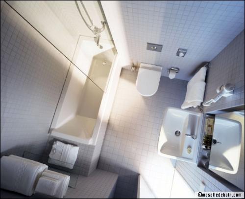 Solutions d'aménagement pour une petite salle de bains - Travaux.com