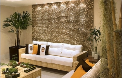 Déco écolo: des murs en noix de coco!
