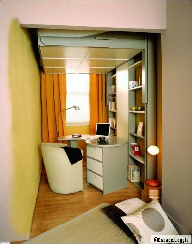 Id es d co pour agrandir vos espaces - Idee peinture bureau professionnel ...