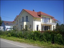 Une maison écologique en briques à Colmar