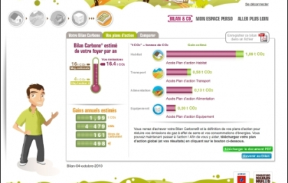 Le coach carbone: un outil gratuit pour réduire ses émissions de C02… et ses dépenses!