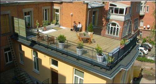 Aménagement d\'une terrasse à Strasbourg - Travaux.com