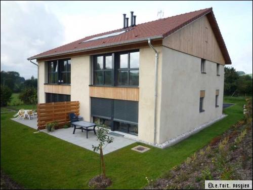 Des logements collectifs passifs ossature bois dans les Vosges  - Travaux.com