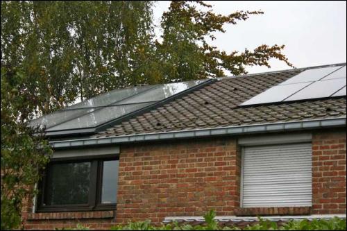 Chauffage et électricité solaires à Villeneuve d'Ascq - Travaux.com