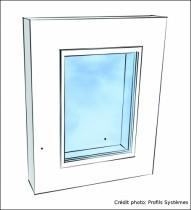 Fenêtre châssis fixe ©Profils Systèmes